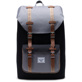 Herschel Little America Mid-Volume Zaino 17L, black/grey/pine bark/tan